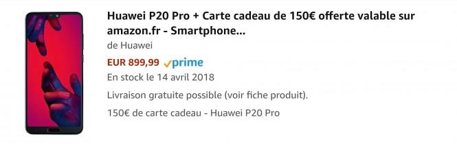 Huawei P20 pro promo, codes de réduction #huawei @huawei #huaweip20Pro #promo