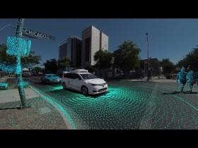 Google propose une balade en 360° a l'intérieur de la voiture Waymo