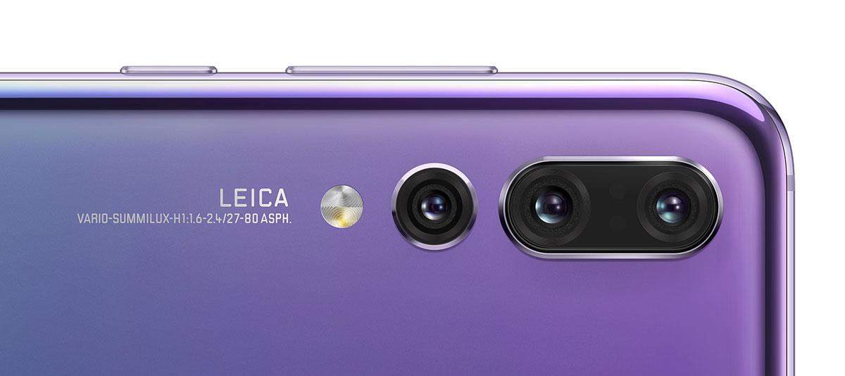 huawei P20 pro comparatif appareil photo