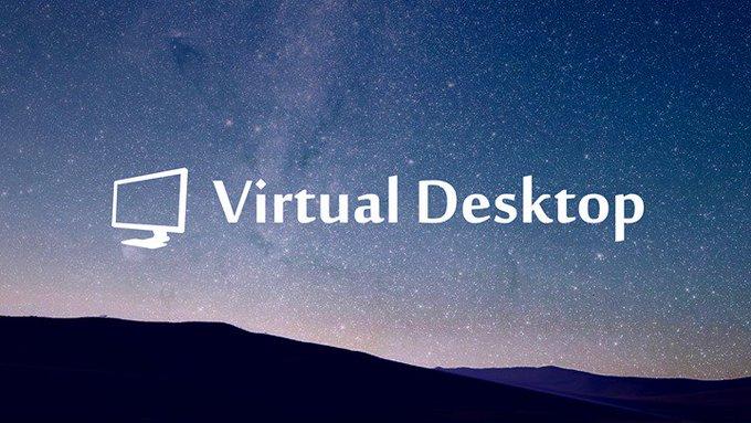 Virtual desktop oculus shadow pc