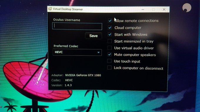 virtual-desktop streamer shadowpc oculus