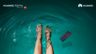Le Huawei P20 pro est étanche