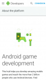 Android Game Development plateform